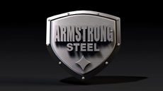 Armstrong Steel Brushed Logo