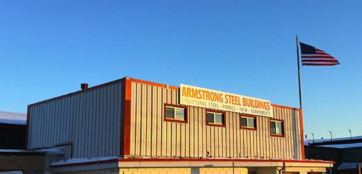 armstrong steel building manufacturer