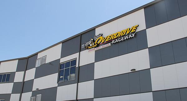 go kart steel building